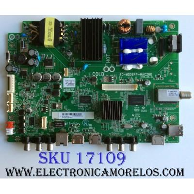 MAIN / FUENTE (COMBO) / SPELER IDF121861A / 40-MS08FP-MAC2HG / V8-0MS08SP-LF1V035 / T8-43D14ZF-MA3 / MS08FP / PANEL LVF430LGDX E1 V5 / MODELO SP-LED43S