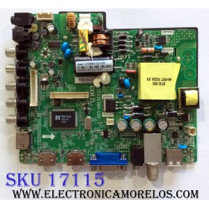 MAIN / FUENTE (COMBO) / ELEMENT 57H1642 / CV3393BH-U32 / 890-M00-06NBD / CV3393BH-U32-12-E8 / ZH15228-12 / 10000754 / 10001049812 / PANEL LK315T3HC1K / MODELO ELEFW328B