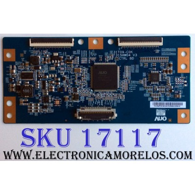 T-CON / SAMSUNG 55.46T03.C48 / 5546T03C48 / T315HW04 V3 / 31T09-C0K / PANEL T460HW03 V.L / MODELOS LN46C600F3FXZA / LN46C630K1FXZA / LN46C630K1FXZA AA02