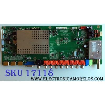 MAIN / SEIKI TI10117-038 / 1.B.08.030000467 / RT816_V5_20100326 / 20-ASUS816-15-0X / VER: RT816S / PANEL V315H1-L02 REV.C1 / MODELO LC-32G82