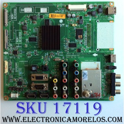 MAIN / LG EBT62353206 / EAX64290501 (0) / EBR75707901 / PANEL T500HVN02.1 / MODELO 50LS4000-UA AWMDLUR