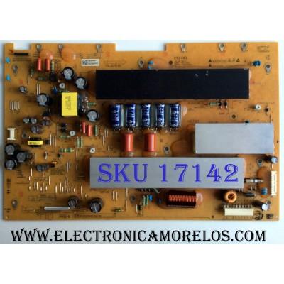 Y-SUS / LG EBR63039801 / EAX61319401 / 50T1_YSUS / E52483 / PARTES SUSTITUTAS EBR65757201 / EBR63039802 / PANEL PDP50T10000 / MODELOS 50PJ350-UB AUSLLUR / 50PJ350 / 50PJ340-UC AUSLLHR / 50PJ350C-UB AUSLLHR / Z50PJ240-UB AUSLZUR