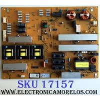 FUENTE DE PODER / SONY 1-474-518-11 / APS-354 / 147451811 / APS-354(CH) / 1-888-527-11 / PANEL SYV6531 / MODELOS XBR-65X850A / XBR-65X900A