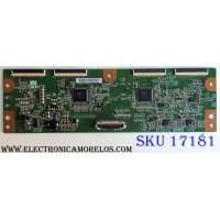 T-CON / SAMSUNG 55.54T01.C06 / T546HW01 V0 / 5554T01C06 / 54T01-C06 / PANEL T546HW01 V.0 / MODELOS LN55C630K1FXZA AA02 / LN55C610N1FXZA / LN55C630K1FXZA / LN55C650L1FXZA / EQ5588