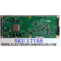 T-CON / LG OLED 6871L-5327B / 6871C-0711C / LC650AQD-EKA1 / 5327B / PANEL LC550AQD (EK)(A4) / MODELO OLED55B7A-U BUSYLJR