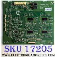 LED DRIVER / SONY LJ97-00011B / ST550RD-S01 / 011B / ST550RD-S01 REV:1.0 / PANEL FQLR550LT1 / A-1853-361-A / MODELO KDL-55HX850