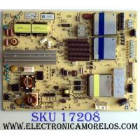 FUENTE DE PODER / SONY 1-474-385-11 / 147438511 / APS-326(CH) / 1-886-218-11 / APS-326 / PANEL FQLR550LT1 / A-1853-361-A / MODELO KDL-55HX850