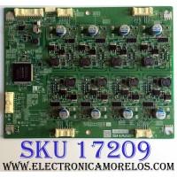 LED DRIVER / SHARP RUNTK4433TPZA / CPWBN4433TPZA / 06-A001251 S / 4433TPZA / PANEL LK520D3LWB0Z / LK520D3LWBOZ / MODELO LC-52LE920UN