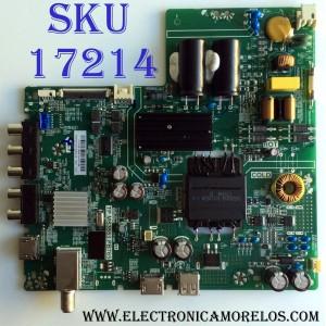 MAIN / FUENTE (COMBO) / LG H17081868 / TP.MS3553.PB765 / 3200366461 / 320021030409005 / 2A0 20170513_124013 / PANEL BOEI430WU1 5A1790B / MODELO 43LJ500M-UB CUSFLH