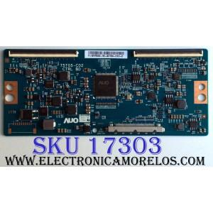 T-CON PARA TV VIZIO 4K UHD HDR SMART TV / NUMERO DE PARTE 55.75T05.C02 / 5575T05C02 / 75T05-C02 / PANEL´S S750QF57 / S750QF57 V1 / MODELOS V755-J04 / V755-J04 LBNFE5 / V755-J04 LBNFE5KX / M75-E1 LTMAEM / M75-E1 LTMAEMMU / E75-E1 LTMAGR / E75-E1 LTMAGRAT