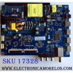 MAIN / FUENTE (COMBO) / INSIGNIA 320021043101001 / CV3553CH-E42 / CV3553CH_E42_11_170427BBY / 7.T3553CHE4211.3A0 / 1707241957 / 076E2L02731B0 / E476721 / 79H11491709FB / PANEL BOEI430WU1 / MODELO NS-43D420NA18