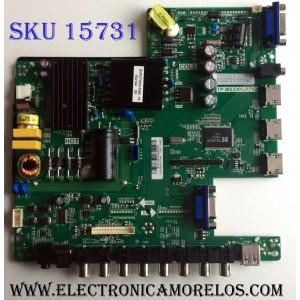 MAIN / FUENTE / (COMBO) / SCEPTRE B15113975 / TP.MS3393.P712 / T201510070A / PANEL´S CN39HD749 / LSC400HN02 / MODELO X40 SBNC93CD