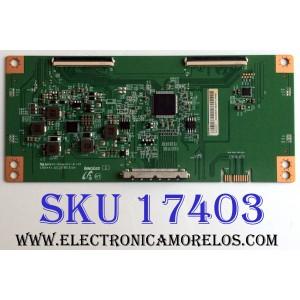 T-CON / LG EACDJ6E11 / E88441 / A3QS96EAT38240FGJ00001 / PANEL´S NC500DQE-VXGR2 / HC500DQN-VCUR2-94X / MODELOS 50UK6500AUA BUSJLOR / 50UK6500AUA AUSJLJR