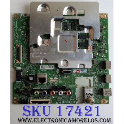 MAIN / LG EBT64533102 / EAX67187104(1.0) / 77EBT000-010W / PANEL NC600DGE-AAFX3 / MODELO 60UJ6300-UA BUSYLOR