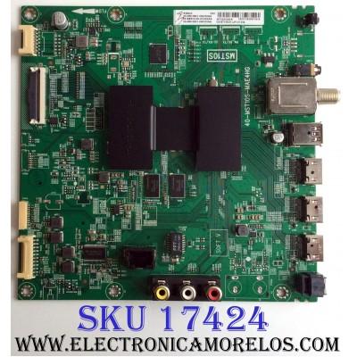 MAIN / TCL 08-SS65CUN-OC404AA / V8-ST10K01-LF1V1244 / 08-MS10S01-MA200AA / 08-MS10S01-MA300AA / 40-MST10S-MAE4HG / MST10S / PANEL LVU650ND1L / MODELO 65S403