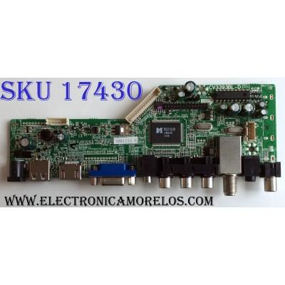 MAIN / SUPERSONIC 3BH1234 H / CV3393BL-D / TFT214091 / CV3393BL-D-12 / B133XTN01.5 / BJM1-81568-0T6G / 1.80.62.00209.B / MODELO SC-1311