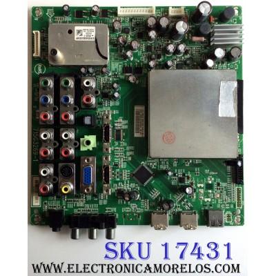 MAIN / INSIGNIA CBPFTQ9CBZK019 / TQ9CBZK019 / 715G3269-1 / TQ9CBZK01901 / PANEL T315XW02 V.T / MODELOS NS-L32Q-10A / NS-L32Q-10A E329AZNKW3BYNN