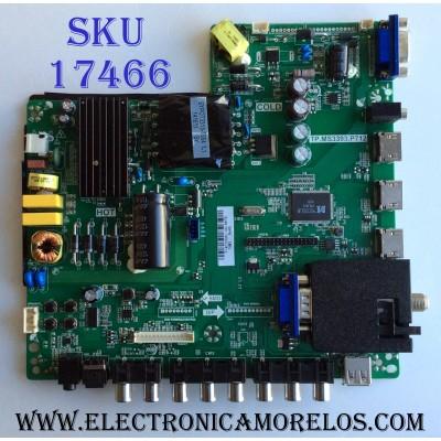 MAIN / FUENTE (COMBO) / SCEPTRE Y14070062 / TP.MS3393.P712 / V400HJ6-PE1 / T201407035 / 142123332023 / PANEL CN40HA701 / MODELO X405BV-FMQR8CNAV93CE