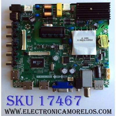 MAIN / FUENTE (COMBO) / ELEMENT K17010043 / TP.MS3393-PB801 / V500HJ1-PE8 C7 / E17026-2-SY / 890-M00-06NC6 / PANEL T500-V35-DLED / MODELOS ELEFW5017 LE-50GV350-D3 / ELEFW5017 C7A4M0A0S