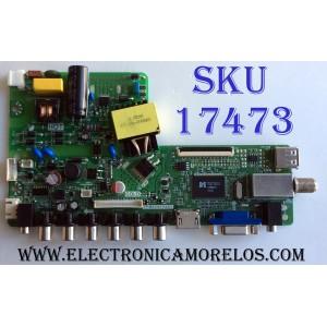 MAIN / FUENTE (COMBO) / POLAROID TP.MS3393.PA557 / 2025A001A0 / UG24L1634043018 / UG24L / PANEL V236BJ1-LE2 REV.C1 / MODELO PTV2416LED