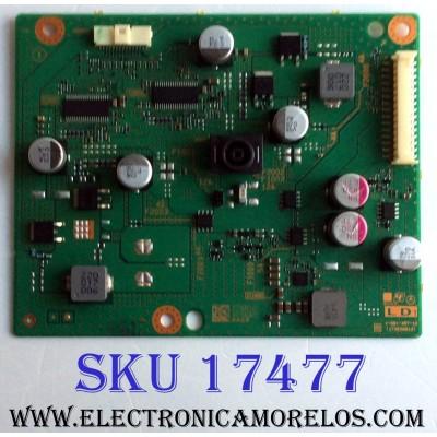 TARJETA LD1 / SONY A-2184-654-B / 1-981-457-12 / 173638812 / A2184654B / PANEL YS7F490HNG01 / MODELOS KD-49X720E / KD-49X706E / KD-49X725E / KD-49X700E / KD-49X727E