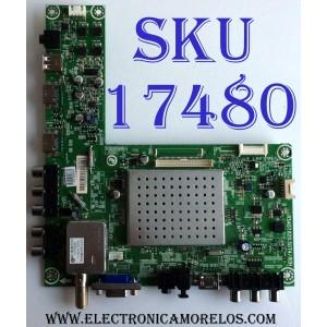 MAIN / INSIGNIA 161640 / RSAG7.820.5074/ROH / LTDN42K300GUS / LTDN42K300GUS/161640/E120818 G / PANEL HE420FF-B57(3000)\PW1 / MODELO NS-42E480A13