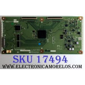 T-CON / SHARP RUNTK4910TPZS / CPWBX4910TPZS / KF778 / XF778WJN2 / QKITPF778YJN2 / QPWBXF778WJN2 / PARTE SUSTITUTA RUNTK4910TPZS / PANEL LK400D3GW80R / MODELO LC-40LE830U