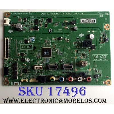 MAIN / LG EBU63575132 / EAX66912103(1.0) / EAX66912103 / PANEL NC320DXE VSEP1 / MODELOS 32LH510B-UC.BWMMLJM / 32LH510B