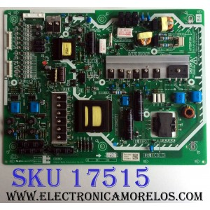 FUENTE DE PODER / PANASONIC N0AE4JJ00004 / PS-309WWC / AS10573 / PS-309WW / 1CA1981 E / PANEL LC370EUH (SC)(A4) / MODELO TC-L37D2
