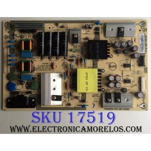 FUENTE DE PODER / BEST BUY / SHARP PLTVHY291XAG5 / 715G9519-P01-001-003M / (X)PLTVHY291XAG5 / E168066 / PANEL TPT500J1-HVN07.U REV:S500AH / MODELO LC-50LB601U
