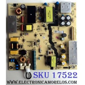 FUENTE DE PODER / HITACHI 1010234038 / TV5006-ZC02-02 / 1010234038-02467 / M21/2010044900/10 / E168066 / E021M289-01 / KB-5150 / PANEL V500DJ6-QE1 / MODELO 50C61 MT8GG