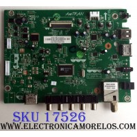 MAIN / JVC 3639-0082-0150 / 0171-2271-5112 / 3639-0082-0395 / PANEL 390HJ1-LE6 Rev.C4 / MODELO EM39T TC1DED