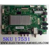 MAIN / SHARP 756TXHCB0QK026 / 715G7228-M01-002-004Y / XHCB0QK026 / (X)XHCB0QK026010X / PANEL TPT500J1-HVN07.U / MODELO LC-50LB481U