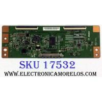 T-CON / LG 4X.AQ61.9TR / E222034 / 4XAQ619TR / 4XAQ619TR3502F2V812300 / PANEL NC390DUN VXBP3 / MODELOS 43UJ6300-UA.BUSYLJM / 43UJ6300