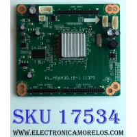 LED DRIVER / RCA A12123382 / PL.MS6M30.1B-1 11375 / A12123382-0800042 / E214887 / PANEL TC460FPH2-E / MODELO ¨46¨