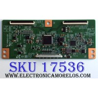 T-CON / SAMSUNG 35-D060661 / E88441 / V460HJ1-C01 / PANEL LD400BGC-C2 / MODELOS UN40D5003BFXZA CN02 / LN40D630M3FXZA / X405BV-FHD