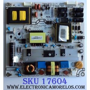 FUENTE DE PODER / INSIGNIA 161562 / RSAG7.820.50249\ROH / 161560 / HLL-4046WH / TU25C140-1B2 / E148279 / PANEL BE420FF-B57(3000) / MODELO NS-42E480A13