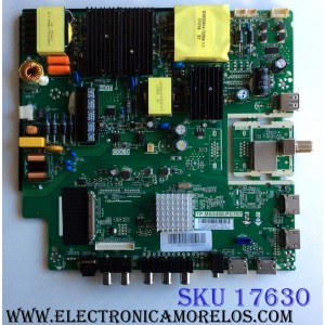 MAIN / FUENTE (COMBO) / AVERA A17072800 / BH-17190 / TP.MS3458.PC757 / ST1709AV55EQX200173 / PANEL´S LSC550FF05 / LSC550FF09 / MODELO 55EQX20
