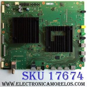 MAIN / SONY A-2197-252-A / A2197239A 974E  / 1-983-249-21 / PANEL T850QVF03.0 / MODELOS XBR-85X900F / XBR-49X900F / XBR-55X900F / XBR-65X900F / (DESPUÉS DE REEMPLAZAR ESTA PLACA TIENE QUE ACTUALIZAR EL SOFTWARE DESCARGA LA VERSIÓN CORRECTA PARA TU MODELO)