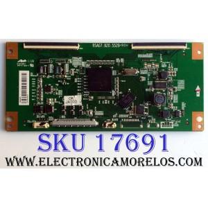 T-CON / HISENSE 166975 / RSAG7.820.5529/R0H / E303981 / PANEL HD550DF-B57\S0 / MODELO 55K20DG