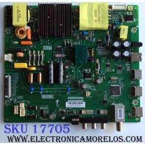 MAIN / FUENTE (COMBO) / INSIGNIA B18063120 / 3MS553LCBNA.01 / TP.MS3553.PC783 /  02-SW353B-C010012 / PANEL LVF550CSDX E13 V1 / MODELO NS-55D510NA19