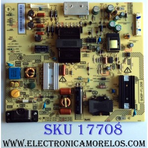 FUENTE DE PODER / BEST BUY / TOSHIBA PK101W1410I / FSP132-3FS03 / PANEL`S K550WDR1HG350A600 / K550WDR1 / MODELO 55L421U