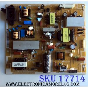 FUENTE DE PODER / SAMSUNG BN44-00552B / PD46CV1N_CSM / BN4400552B / PSFL930C04E / PANEL LTJ400HV11-V / MODELOS UA40EH6030 / UA40EH6030RXXA TS01