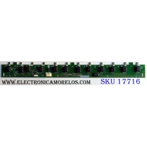 BACKLIGHT INVERTER / SAMSUNG 19.40T04.002 / VBT71879.60 / 1940T04002 / IT-140GTC / E74060 / PANEL´S T400HW03 V.4 / T400HW03 V.2 / MODELOS LN40C630K1FXZA AA05 / LN40C530F1FXZA CN01 / LN40C610N1FXZA / LN40C630K1FXZA / LN40C650L1FXZA