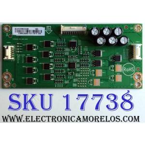 LED DRIVER / VIZIO LNTVHW24CAAB5 / 715G9365-P01-000-004Y / E342828 / PANEL TPT550U1-QVN05.U REV:S57B0A / MODELOS E55-F1 LTMWWUMU / E55-F1 LTMWWUKU
