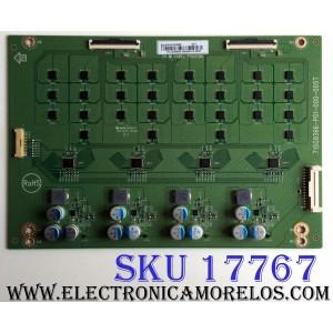LED DRIVER / VIZIO LNTVHU16ZXAB2 / 715G9366-P01-000-005T / HU16ZXAB2 / E88441 / PANELTPT550U1-QVN05.U EV:S9B0A / MODELO P55F-F1 LTMWXHKU