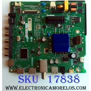 MAIN / FUENTE (COMBO) / SHARP 236008A / TP.SR.PB701 / 236007A / 236008 / 236007 / HU43N2173F / TM186530R9 / 3TE43M181442 / M181436 / PANEL JHD426N2F21-BKQL\S0\FM\ROH / 219243 / MODELO LC-43Q3000U