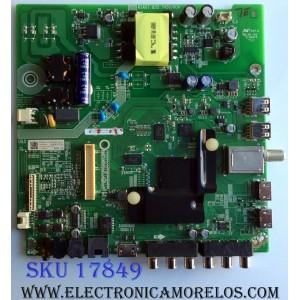 MAIN / FUENTE (COMBO) / SHARP 210693A / RSAG7.820.7456/ROH / 214722A / HU43N2178FW / 214722 / 210693 / 3TE43M175187 / TM181X44SU / M175185 / MODELOS LC-43P5000U