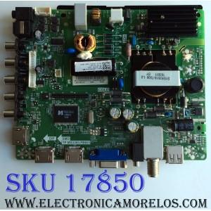 MAIN / FUENTE (COMBO) / HISENSE 150528 / TP.MS3393.PB851 / G163092 / LHD32D50US / PANEL JHD315DH-E81 / MODELO 32H3B1