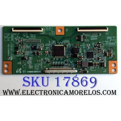 T-CON / APEX 35-D077762 / V460HJ1-C01 / E88441 / PANEL V460HJ1-PE1 / MODELOS LE4643T / ELEFT466